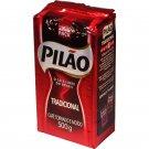 Pilao Ground Coffee 500g Torrado e Moido Forte Brazil