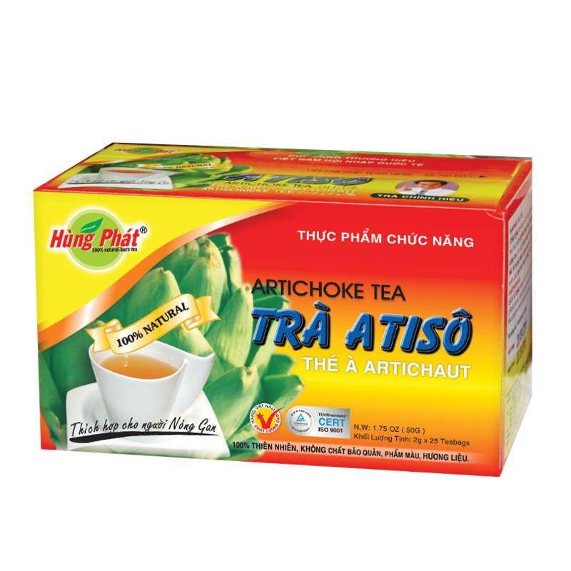 HUNG PHAT Artichoque Flower Herbal Tea 25 tea bags