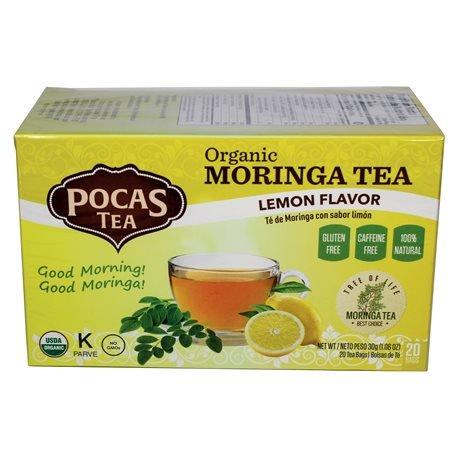 Pocas Moringa with Lemon Tea 20 un