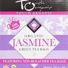 Touch Organic - Organic Jasmine Green Tea Cube - 100 bags