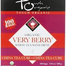 Premium Organic Very Berry White Tea Cube - 100 bags