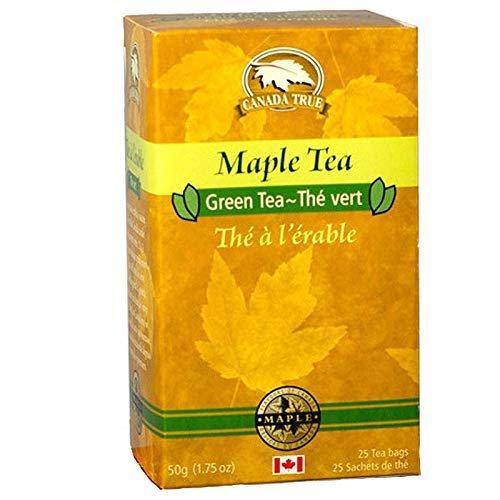 Canada True Maple Tea with Green Tea 25 tea bags 50 g 1.75 oz Erable Tea New Gift Idea