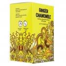 Premium Ginger Chamomile Earth Teaze Brand 20 tea bags • Gourmet Herbal Tea