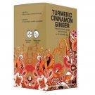 Premium Turmeric Cinnamon Ginger Earth Teaze Exclusive Brand 20 tea bags