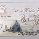 Universal China White Tea 20 tea bags
