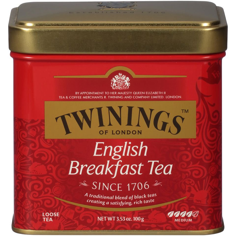 Twinings, Classics, English Breakfast Loose Tea, 3.5 oz (100 g) LIMITED STOCK