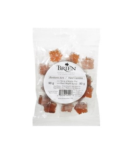 Hard Maple Candies, Pack of 10 candies, 90 g
