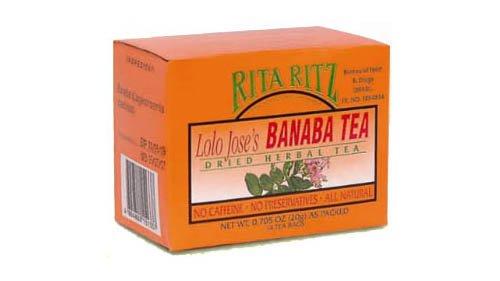 Rita Ritz Tea Banaba Herbal Tea Lolo Joses Herbal Tea
