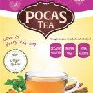 Pocas Cholesterol Care Herbal Tea 20 un with Moringa, Ginger, Curcumin and more