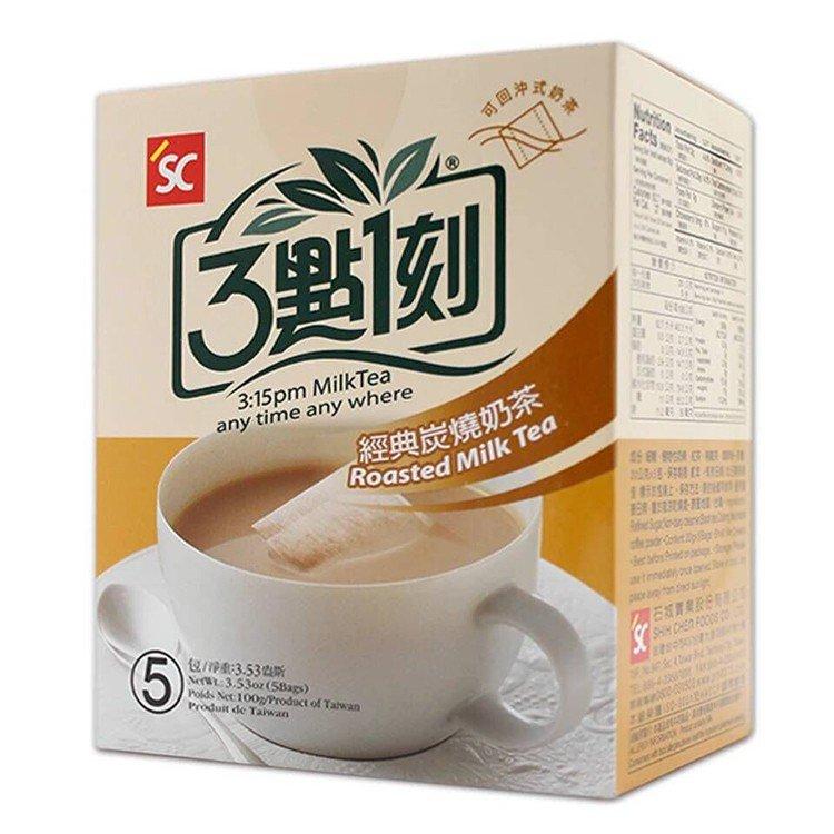 Japanese 3:15PM Roasted Milk Tea 100g 5 Tea Bags From Taiwan