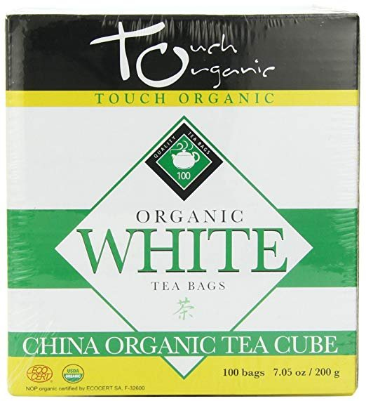 Premium Touch Organic - Organic White Tea Cube - 100 bags - Weight Loss and Metabolism Booster