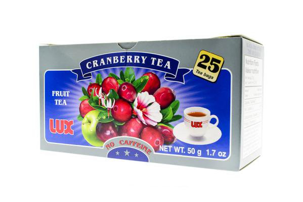 LUX Brand Herbal Tea Cranberry Tea