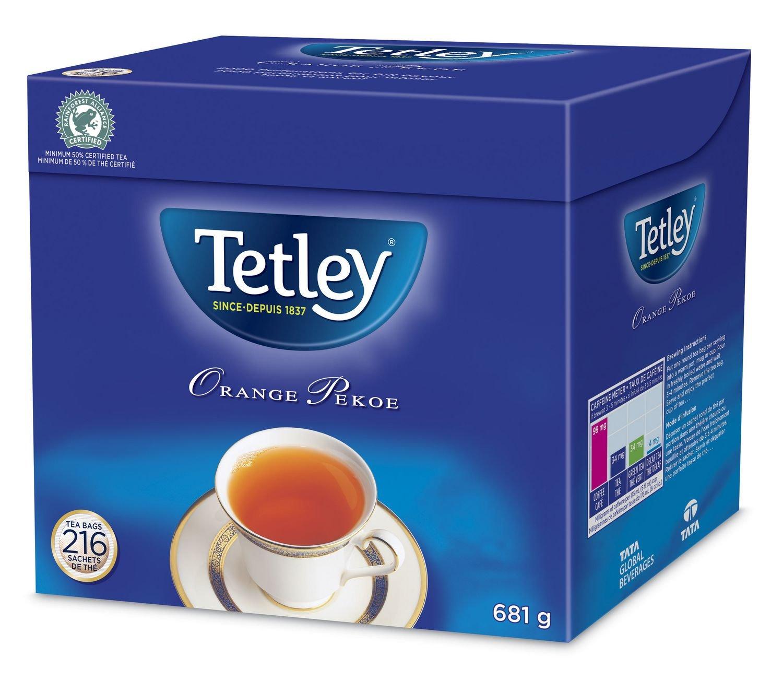Tetley Orange Pekoe Tea Pack of 216 tea bags ON SALE