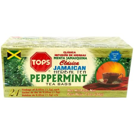 Tops Classic Jamaican Peppermint Herbal Tea, 24 count, 1.3 oz