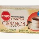TOPS Canela Cinnamon Herbal Tea 24 tea bags