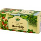 Herbaria Rosehip 25 tea bags wild crafted since 1949