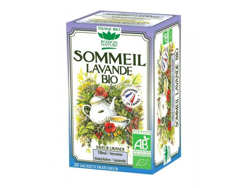 Romon Nature Tisane Sleep Sommeil Lavander Flavor Herbal tea 20 sachets