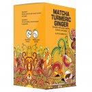 Premium Earth Tea ze Matcha Turmeric Ginger 20 tea bags