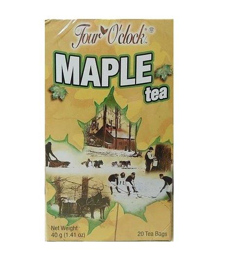 Canadian Four o' clock Maple Tea - 20 tea bags Canada Souvenir Gift