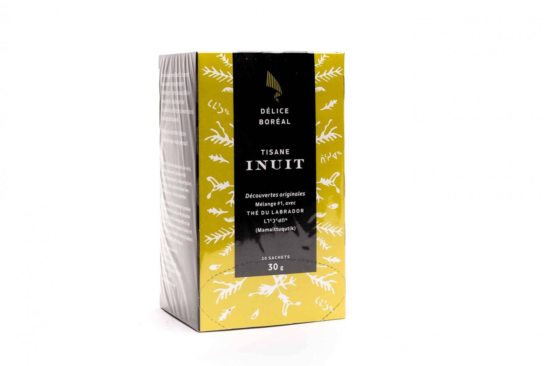 Inuit Labrador Tea 20 tea bags  Product of Quebec, Canada