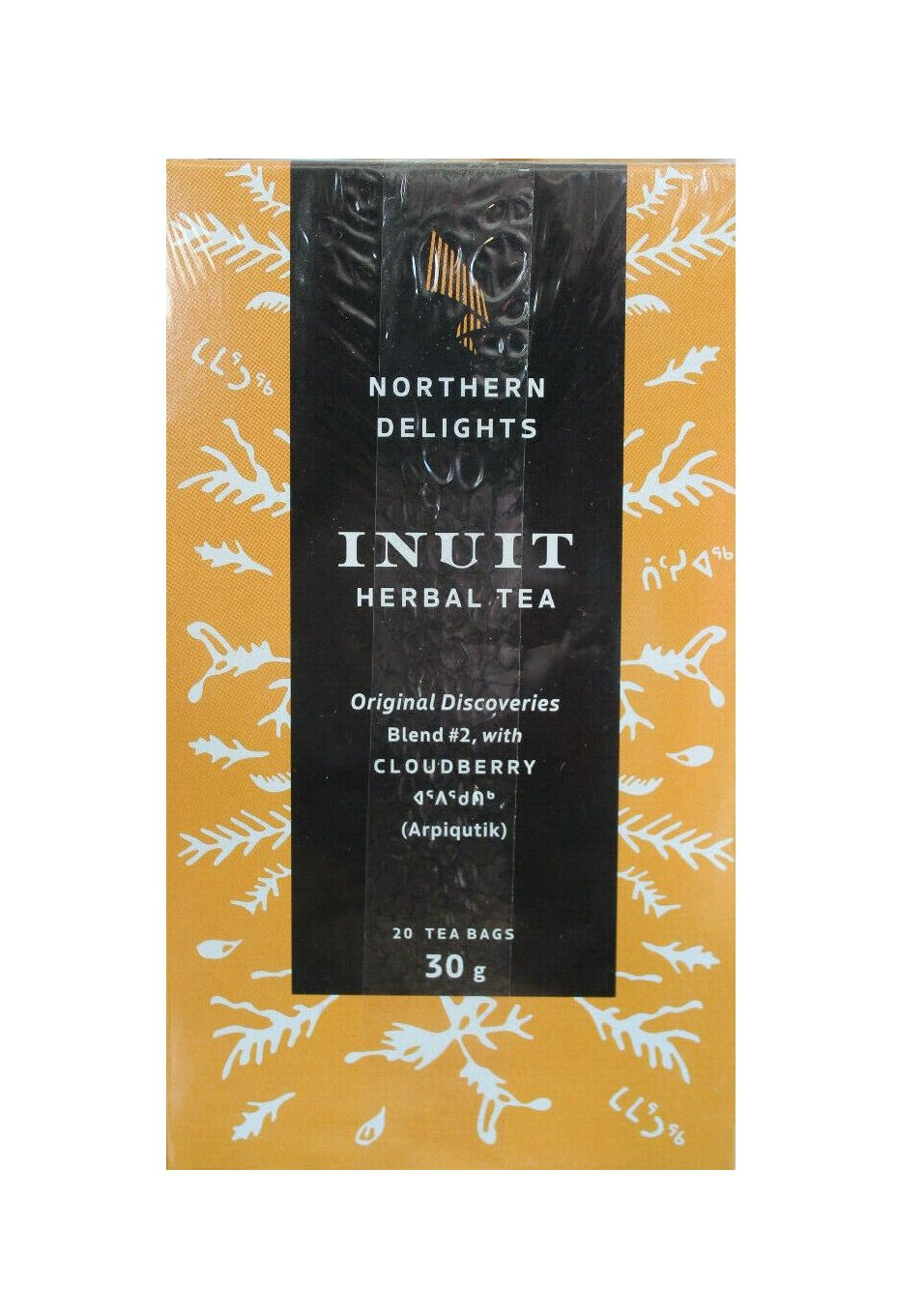 Cloudberry Inuit Herbal Tea 20 bags Gift Idea from Canada Native People