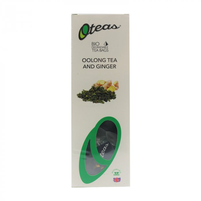 O teas Oolong Tea and Ginger Herbal Tea