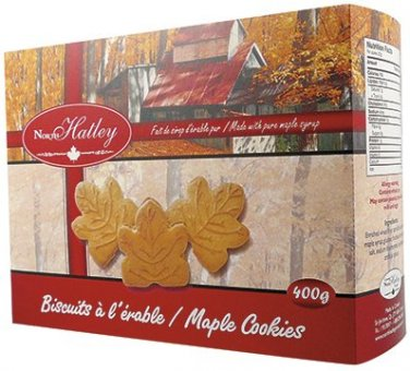 Canadian Maple Syrup Cookies 400gr North Hatley