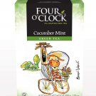 FOUR O'CLOCK Green Tea Cucumber Mint Herbal Tea 16 UN
