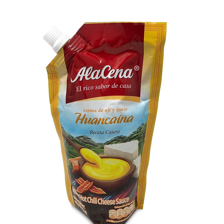 AlaCena Peruvian Sauce Traditional Huancaina Chili Sauce Peruvian Food Salsa Big