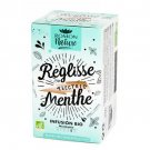 Romon Nature Licorice Electric Mint Reglisse Menthe Herbal tea Infusion Bio 16 sachets