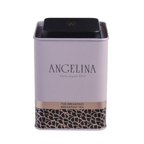 Discover Exclusive ANGELINA PARIS 1903. Breakfast Tea, 100g Loose Tea (1 Tin)