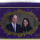 English Breakfast Tea Tin 40 un, Prince William and Kate Middleton Duchess of Cambridge Gift
