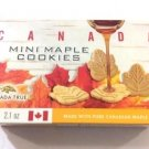 Canada True Maple Mini Cookies 60gr Made with Pure Canadian Maple Syrup