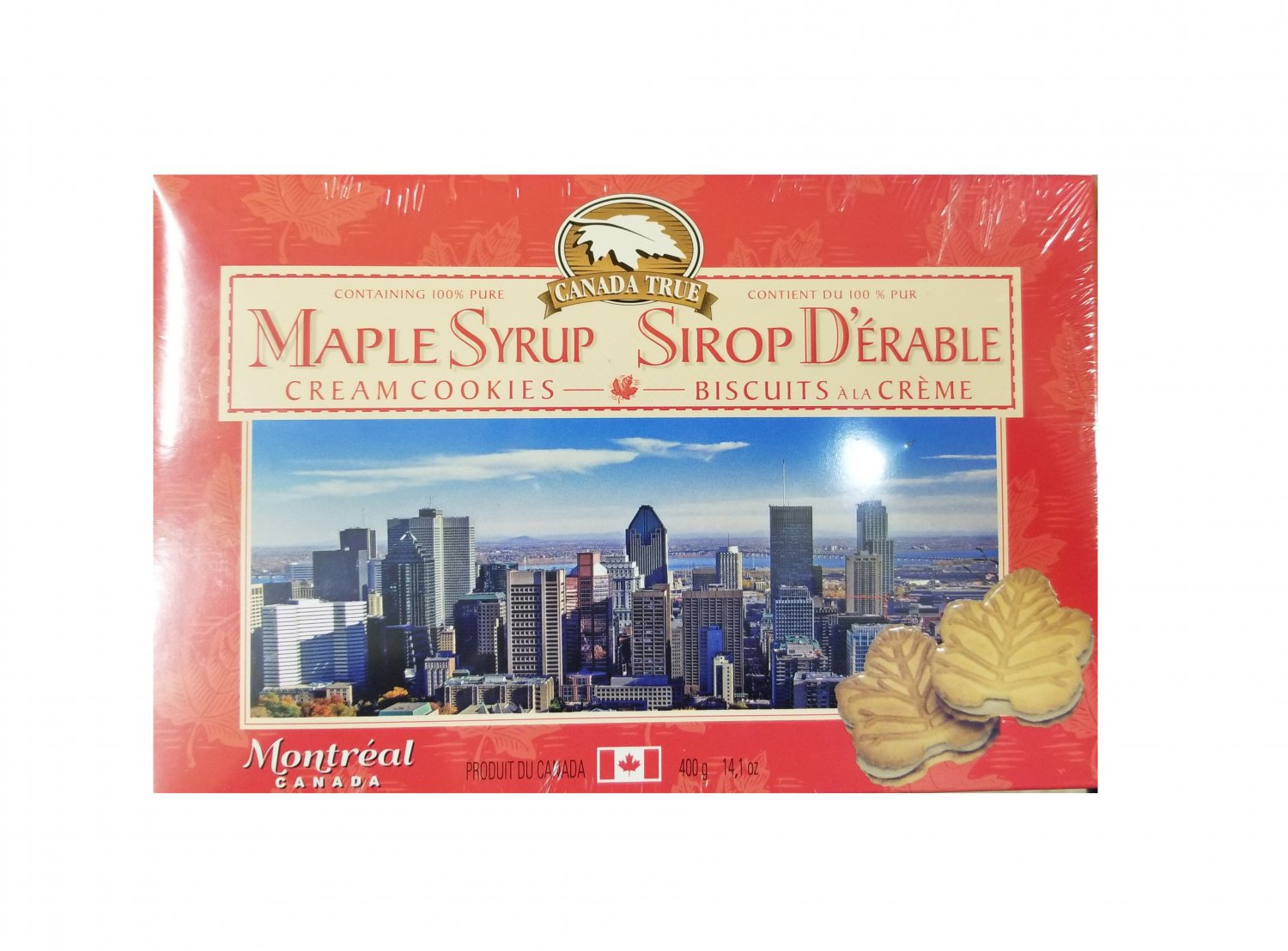 Canada True Premium Maple Cream Cookie with 100% Pure Maple Syrup + Limited stock