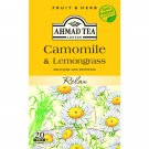 Ahmad Tea Chamomile and Lemongrass 20un