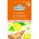 Ahmad Tea Lemon and Ginger 20un