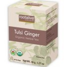RootAlive Organic Tulsi Ginger Tea 20 sachets
