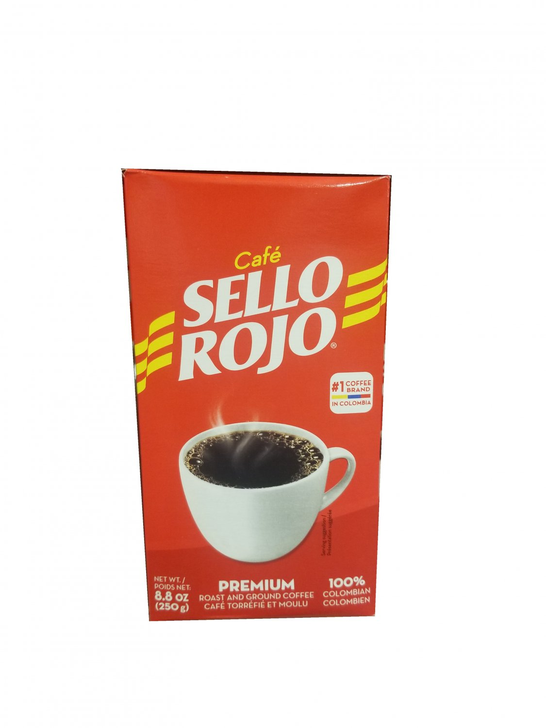 Colombia Sello Rojo Ground Coffee Pack 8.8 oz. 250 g