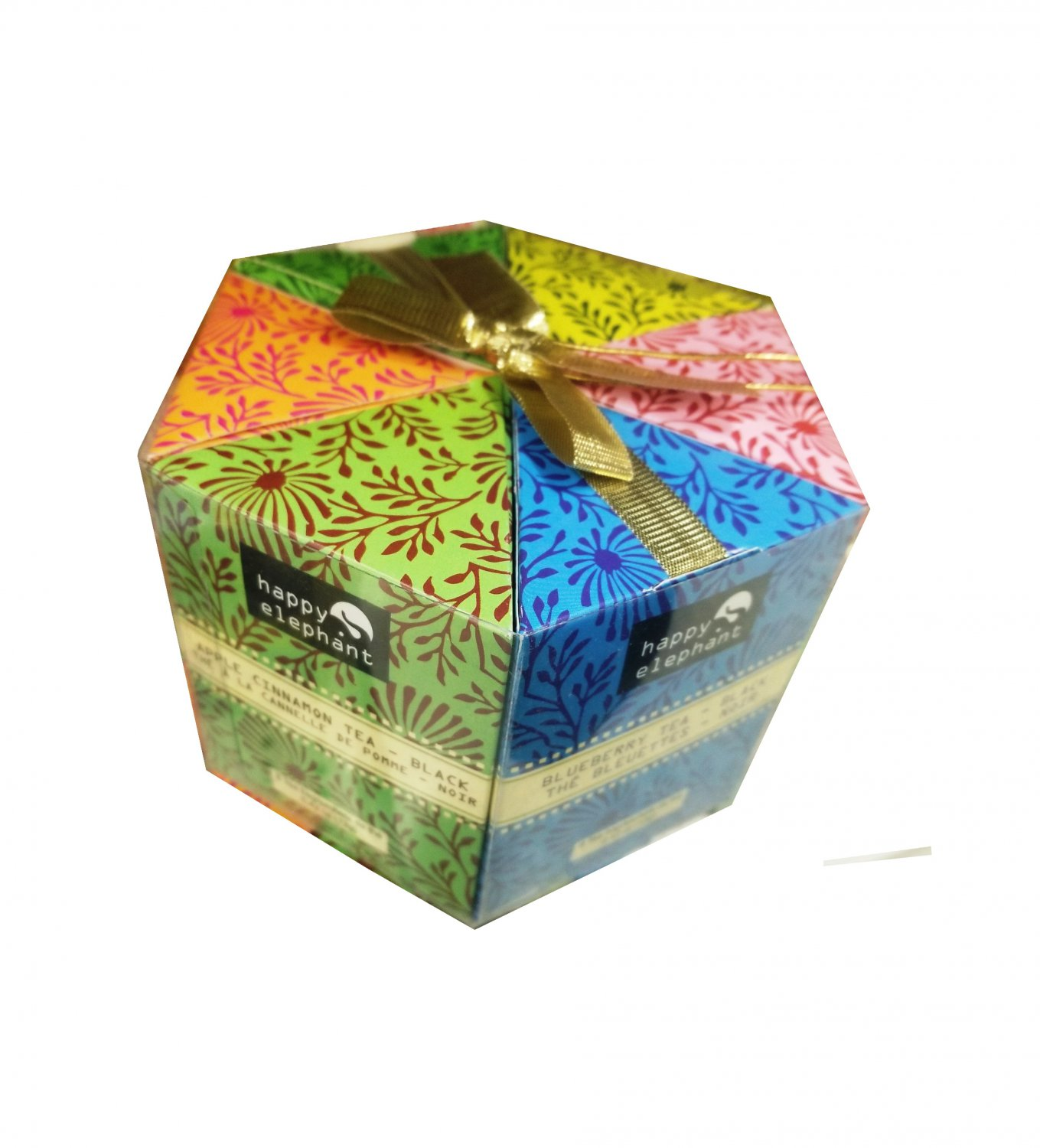 Specialty Tea Selection Happy Elephant Gift Box 48 tea bags - 6 flavors New Gift Idea