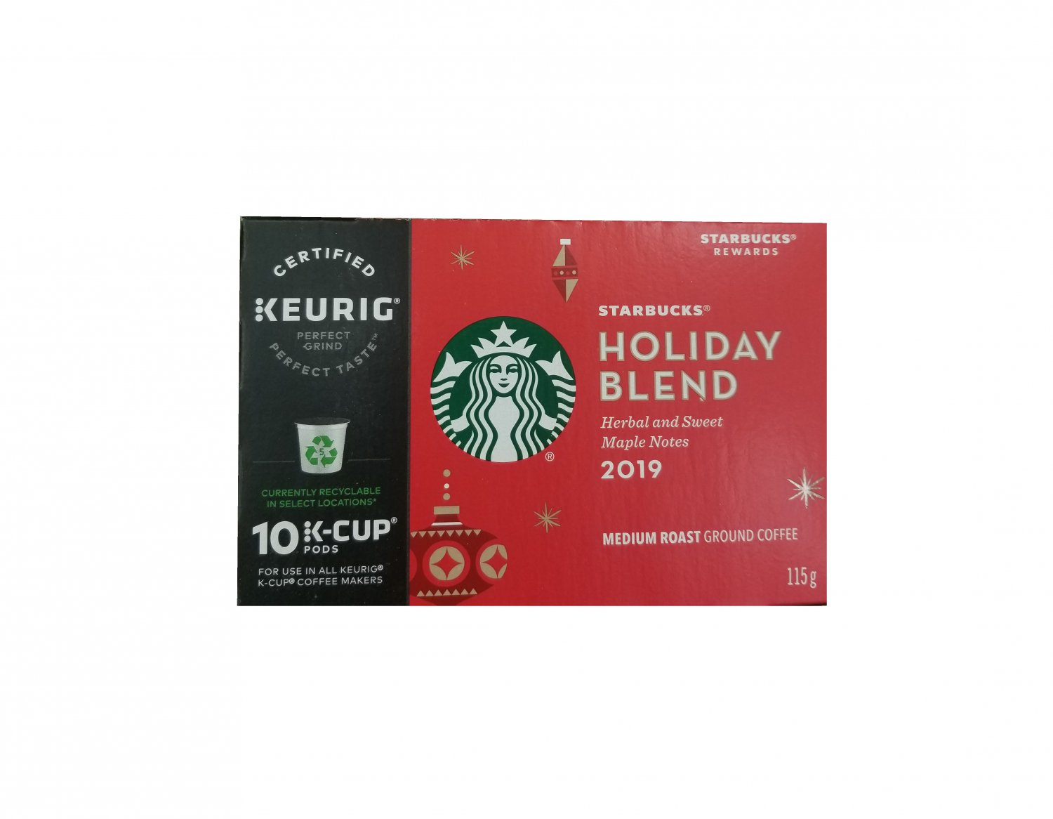 Starbucks Holiday Drink K-Cup coffee pods 10 units