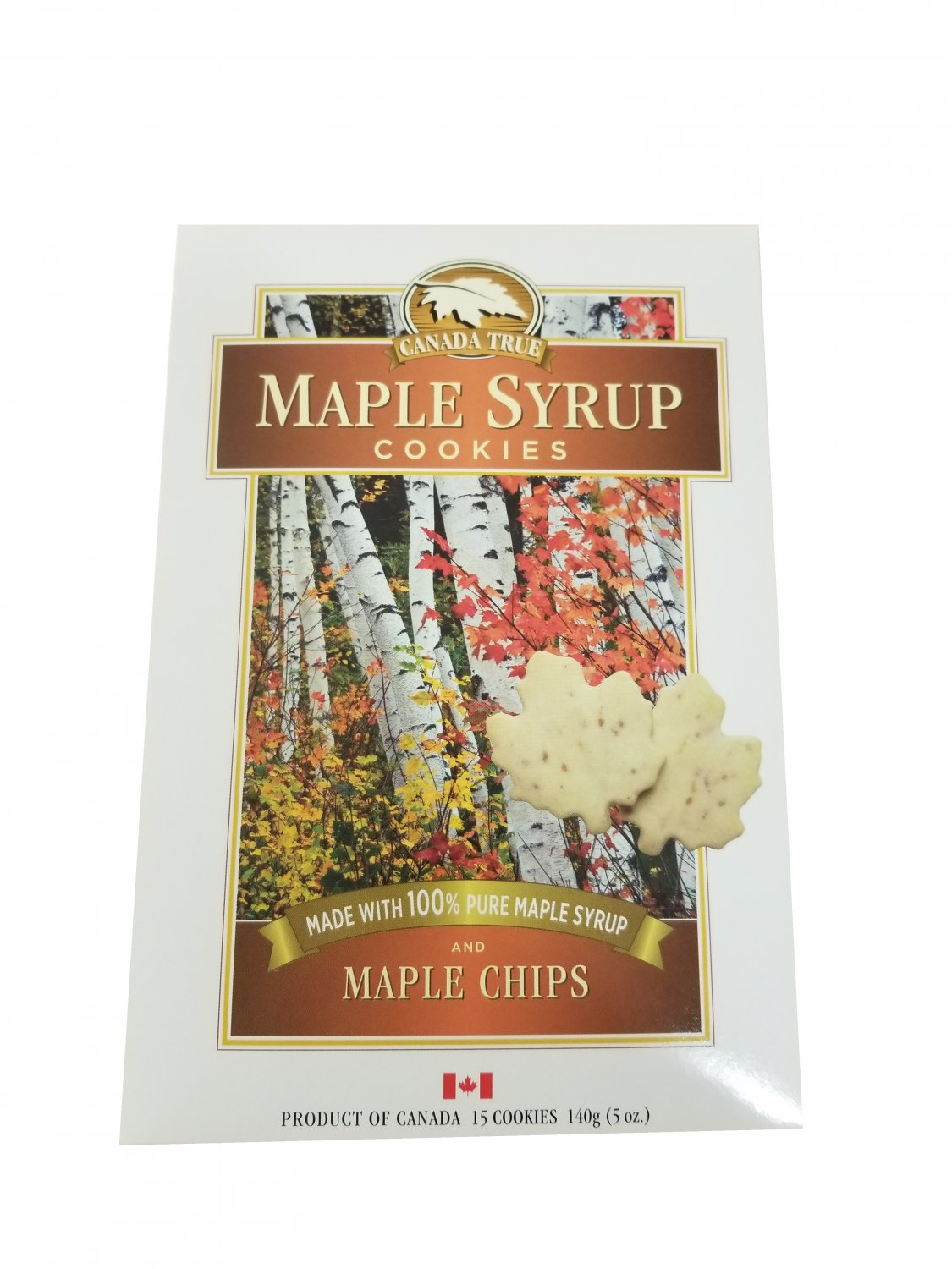 Maple Syrup Cookies with 100% Pure Maple Syrup and Maple Chips