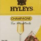 Champagne flavored Tea + Hyleys Tea Mocktails Champagne