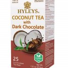Coconut Herbal Tea with Dark Chocolate + Hyleys Tea