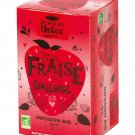 Romon Nature Organic Fraise Gingembre Strawberry Ginger Bio 16 sachets