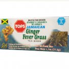 TOPS Ginger Fevergrass Herbal Tea 24 tea bags