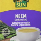 Tropical Sun Neem Tea Indian Lilac Caffeine Free with natural ingredients, neem leaves