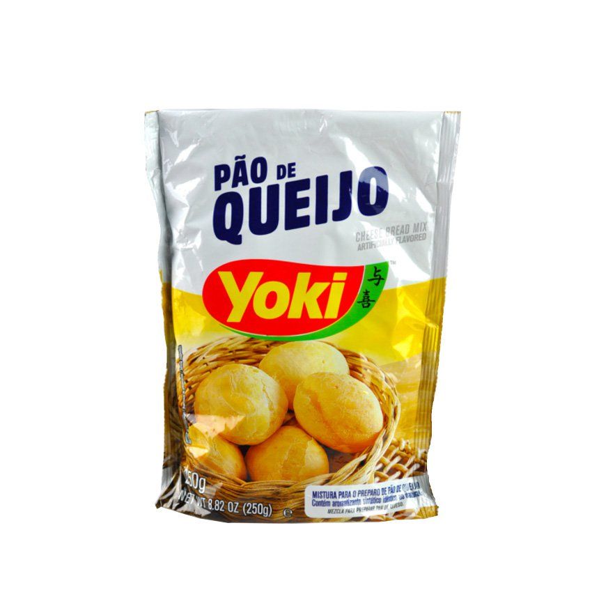 Pao de queijo Yoki 250g (8.80oz) · Cheese Bread Mix · Brazilian food