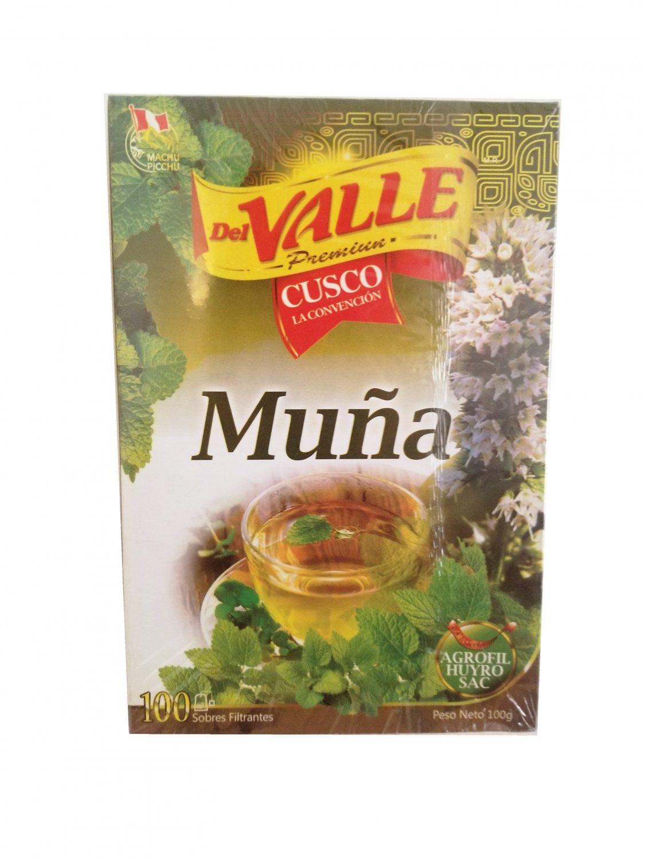 Muna Muña peruvian mint tea New Box