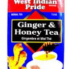 West Indian Pride Ginger Honey Tea