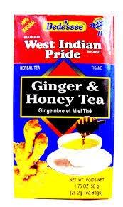 West Indian Pride Ginger Honey Tea